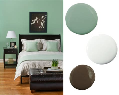 brown and green color scheme design decoration 3 simple and easy bedroom color schemes mint green