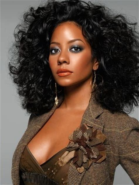 chemical curls for black hair blow out curls they run the world curls pinterest