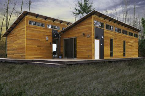 glide house blu homes unfolds a glidehouse prefab on vashon island in washington vashon island