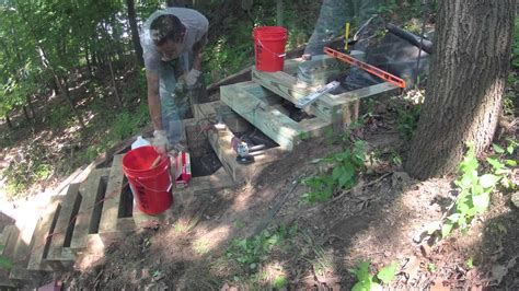 building  landscape stairs time lapse youtube