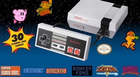 nintendo entertainment system nes classic edition console mini 30 retro ebay nintendo is reliving the eighties with the mini nes ps4pro en