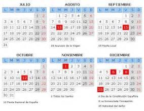 Calendario 2018 Granada Calendario Laboral Granada 2016