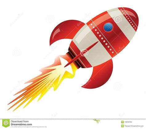 Raket Z raket in ruimte vector illustratie afbeelding bestaande