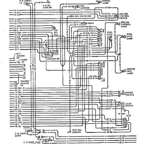 1970 chevelle wiring diagram wiring diagram and