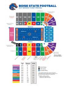 Boise State Map by Broncosports Com Boise State Official Athletic Site