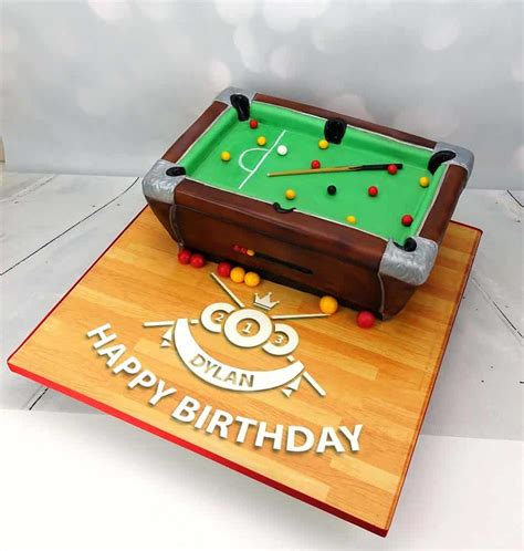 pool table cake pool table scultped novelty birthday cake angie cakes