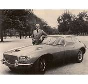 Raymond Loewy Had Difficulty With His Jaguar XKE Even