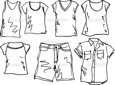 Simple Listy Black And White boys clothes clipart cliparthut free clipart