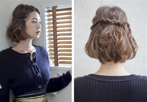 tutorial jedai untuk rambut pendek brasil ombre bob pendek wig rambut manusia bob pendek