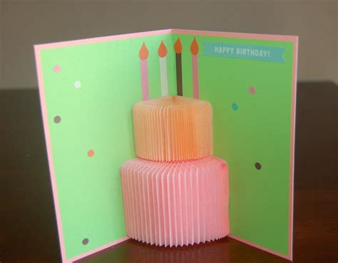 3d birthday cards to make honeycomb 3d birthday card