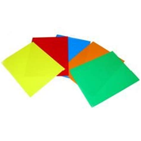 5 color pack acetate transparent sheets buy in