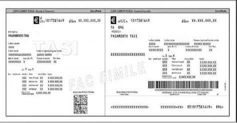 numero identificativo ufficio postale tasi arrivano i bollettini per il pagamento tributo