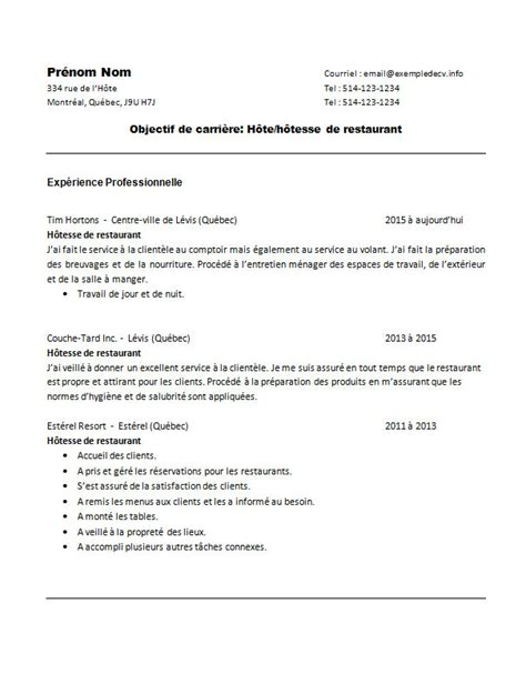 Resume Maker Montreal Professional Cv Montreal