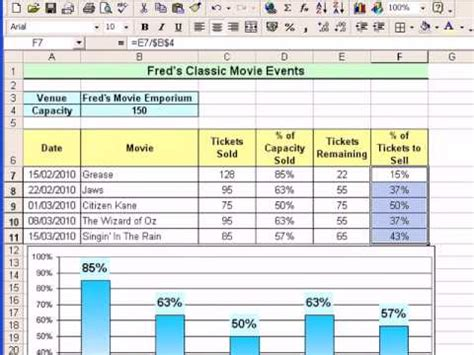 microsoft excel tutorial for beginners 15 percentages