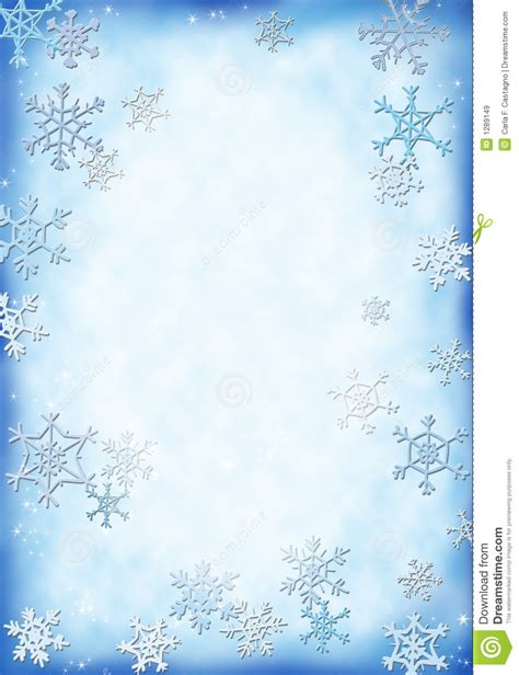Snow Background Stock Illustration Illustration Of Background 1289149 Free Letter Background Template