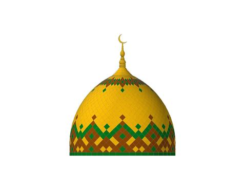 Kubah Panel Enamel atap kubah enamel powdercoating masjid an nur asilulu