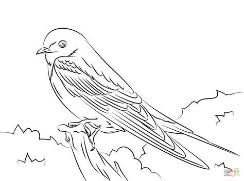 Golondrinas Para Colorear Colouring Pages | dibujo de golondrina para colorear dibujos para colorear
