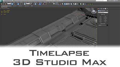 Ceiling Max Parts - time lapse sci fi ceiling parts modelling 3d studio max