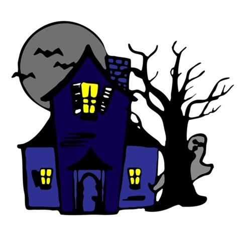 disegno casa disegno di casa con fantasmi a colori per bambini