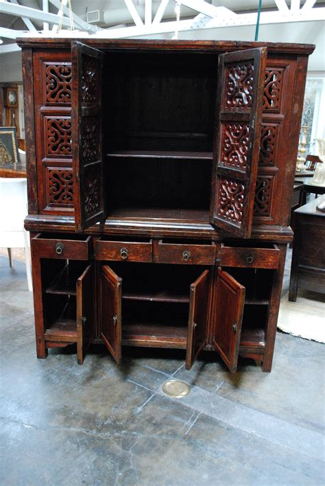 chinese bamboo kitchen cabinet for sale at 1stdibs chinese kitchen cabinet for sale at 1stdibs