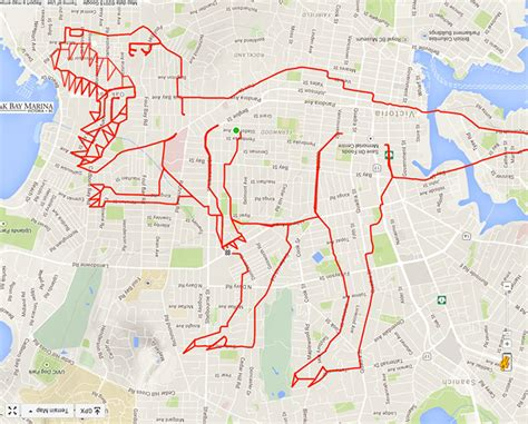 design running route google maps artist draws world s largest doodles by riding his bike