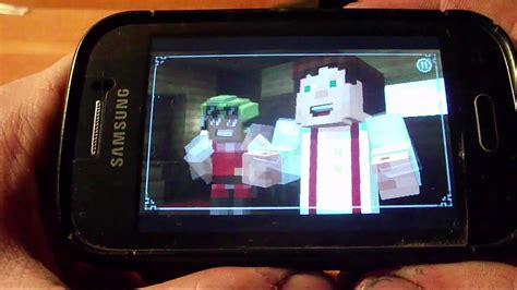 game mod samsung galaxy young minecraft story mode on samsung galaxy young youtube