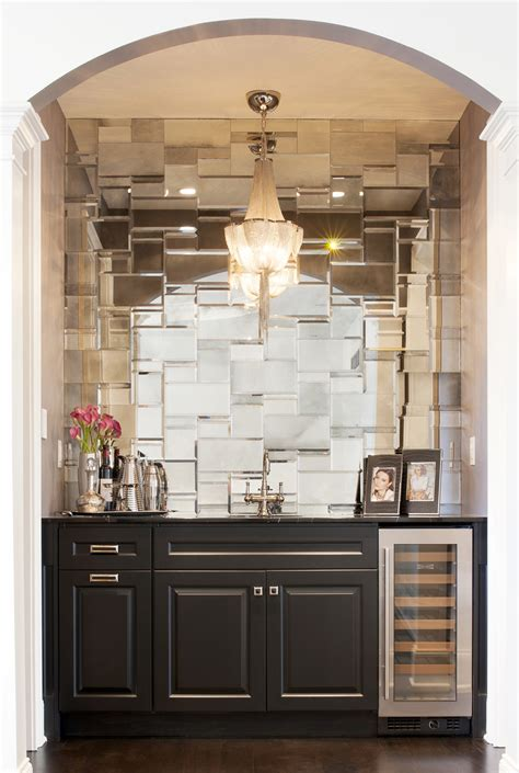 mirror tile backsplash kitchen tile tuesday weekly tile inspiration from around the web