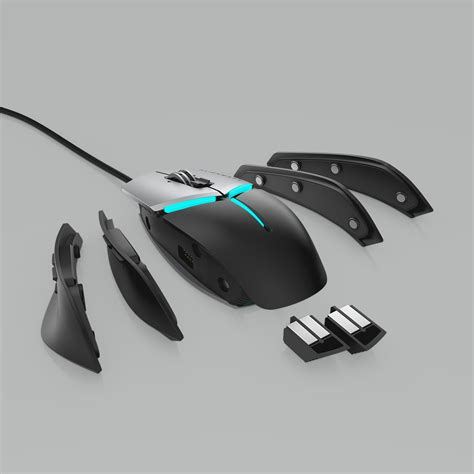 the alienware elite mouse aw959 and alienware wireless headset aw988 offer familiar
