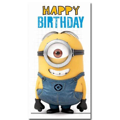 Minions Birthday Card Happy Birthday Minion Fold Out Card Minion Shop