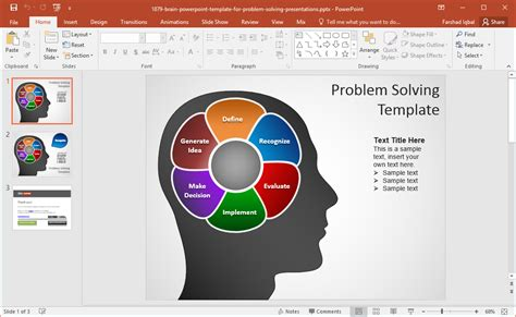 Best Brain Clipart Graphics For Powerpoint Brain Powerpoint Templates For Mac
