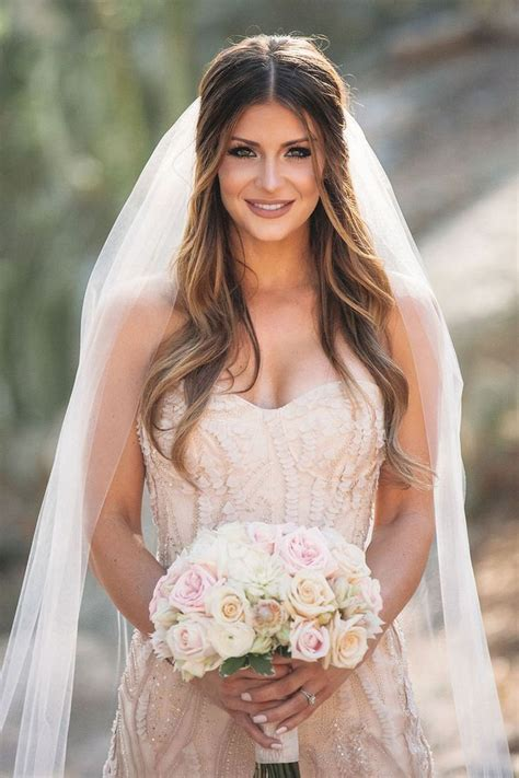 bridal hairstyles let down best 25 wedding hair down ideas on pinterest bride