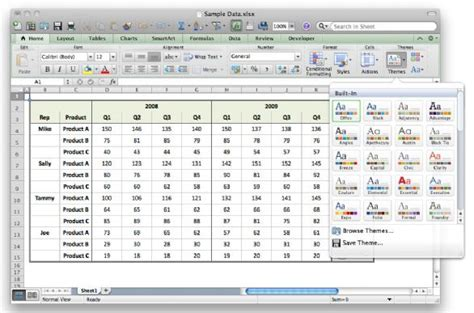 excel edit themes three must see excel 2011 tricks macworld