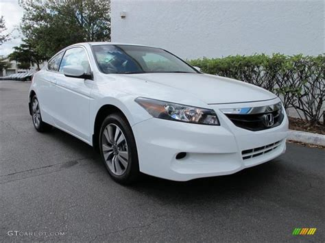 2012 honda accord lx s taffeta white 2012 honda accord lx s coupe exterior photo