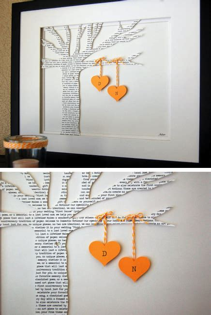 Wedding Anniversary Gifts For Him 1 Year by 1 Year Wedding Anniversary Gifts For Him Paper Wedding