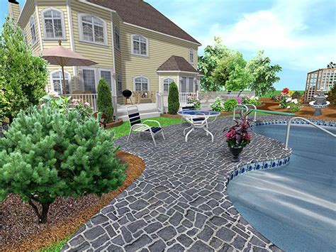 3d home landscape design free download realtime landscaping pro 4 demo 4 02 by idea spectrum new
