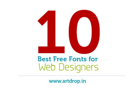 10 best free online tools for designing fonts 10 best free fonts for web designers by iloserboy on