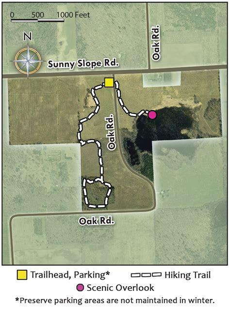 oak road nature preserve door county land trust