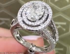 erin molan s engagement ring cost around 100k
