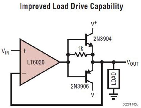 transistor lifier output stage solutions increase lifier output drive using a push pull lifier stage