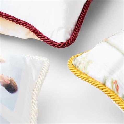 cuscino foto cuscini in seta personalizzati cuscini con foto 40x40