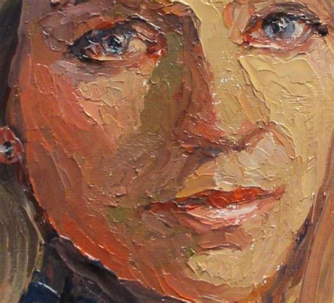 acrylic painting with knife 17 best images about portraits on acrylics