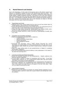 Marketing Plan Template Startup by Startup Business Plan Template 2