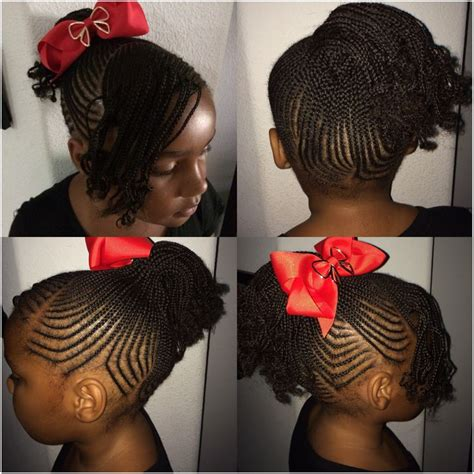 back to school hairstyles with box braids back to school hair do little girl braids small tiny