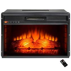electric fireplace heater with remote akdy 23 in freestanding electric fireplace insert heater