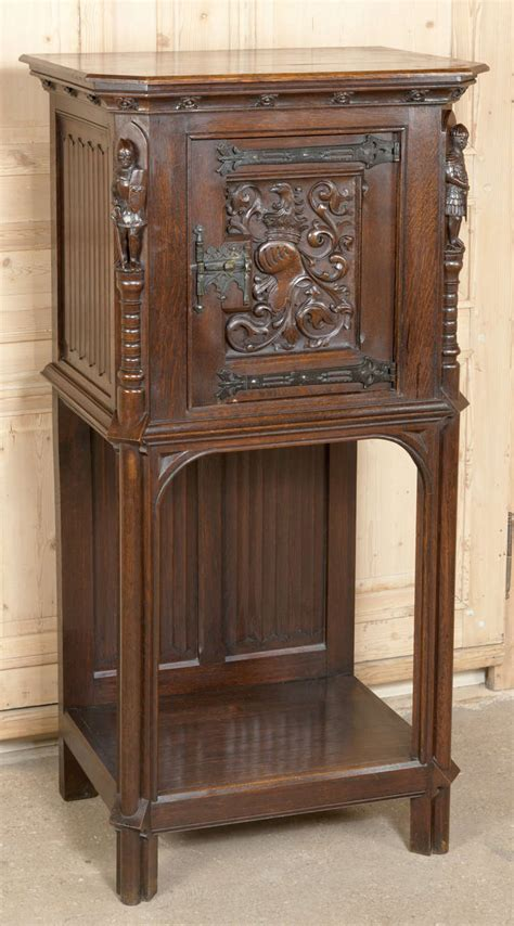 Gotham Cabinet by Antique Raised Cabinet At 1stdibs
