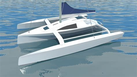 trimaran plans and kits trimaran plans plywood small wooden sailboats for sale