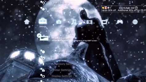 Batman Wallpaper Ps3 | ps3 dynamic theme batman arkham origins youtube