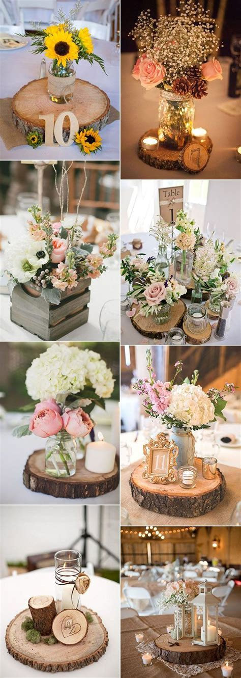 rustic wedding table decorations best 25 rustic centerpieces ideas on diy