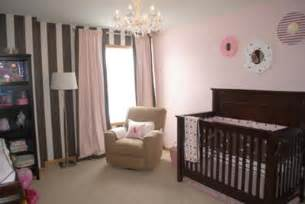 brown and pink nursery pink and brown nursery we saw a picture of trista s from the bachelorette nursery featuring