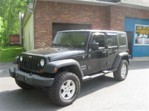 Best Tires For Jeep Wrangler Sport Buy Used 2010 Jeep Unlimited Sport 3 8 V6 Loaded With New
